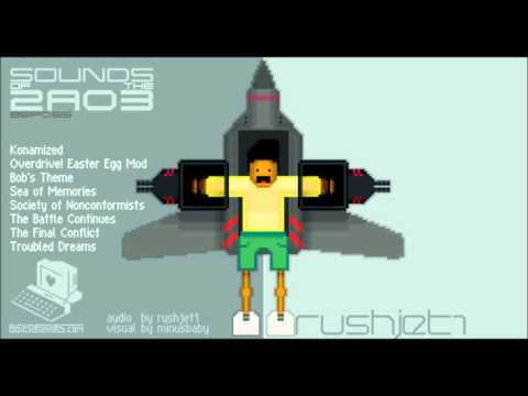 "Rushjet1 - ""Sounds of the 2a03"" (Full Album) Chiptune"