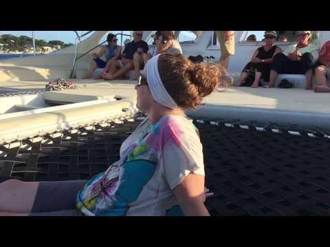 Celebrity Eclipse - 1/22/17 - Barbados - Sunset sail, pt 2