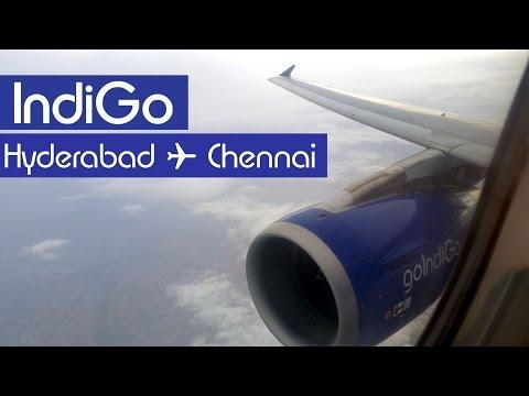 IndiGo 6E-381 Hyderabad (HYD) - Chennai (MAA)