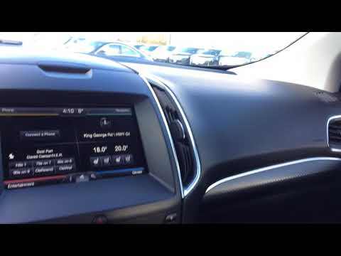 | 2015 FORD EDGE SPORT!!!!!  walk around video by Product Advisor Ashley Muscat
