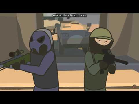 CS:GO Cartoon. Episode 4 DE_mirage. Created oKeyush