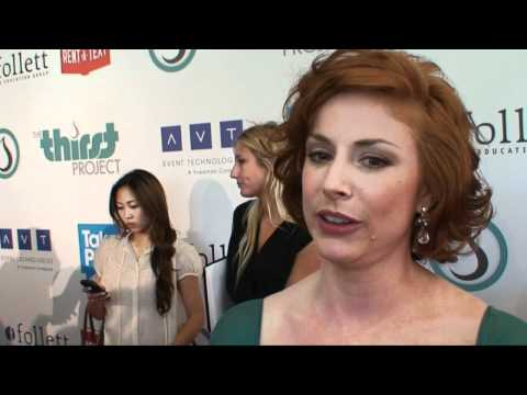 Diane Neal Law and Order SVU ed By Ken Spector At The 3rd Annual Thirst Project Gala