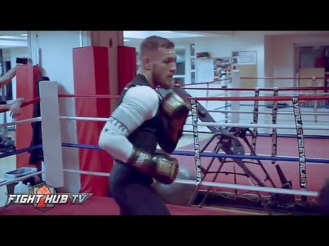 Do you see improvements? Conor McGregor keeping MMA skills sharp in case Mayweather bout falls thru