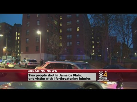 Two People Shot In Jamaica Plain