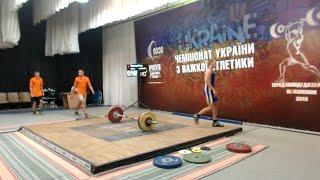 Чемпіонат України з важкої атлетики серед молоді до 23 років. 9 серпня ч.3
