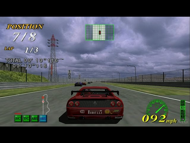 F355 Challenge PS2 Gameplay HD (PCSX2)
