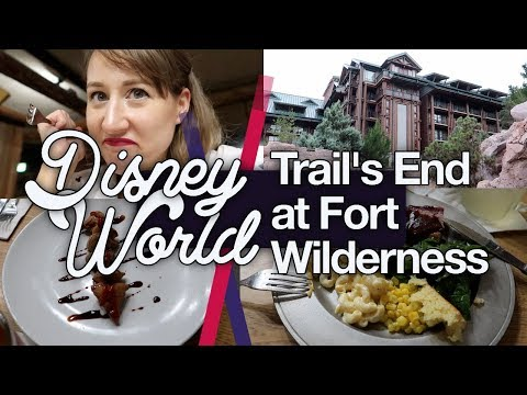 Trail's End with a Vegetarian! Disney World #11 | Fort Wilderness | thisNatasha | Oct 2018