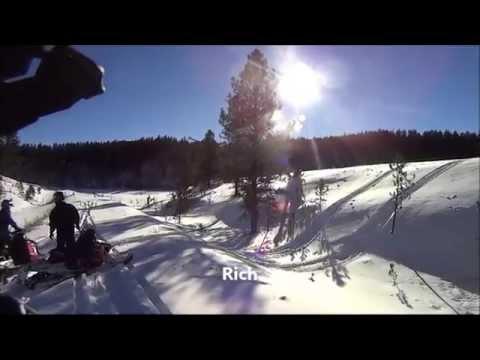 Black Hills, SD snowmobile trip 1/1/15