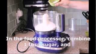 How To Make Pie Crust In A Food Processor - From Baking Bites