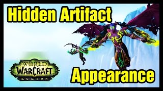 Artifact Hidden Appearance WoW Demon Hunter