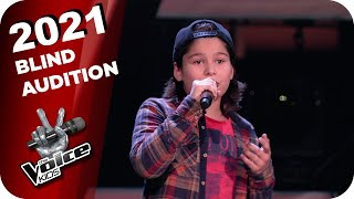 Wincent Weiss - Feuerwerk (Fabio) | The Voice Kids 2021 | Blind Auditions