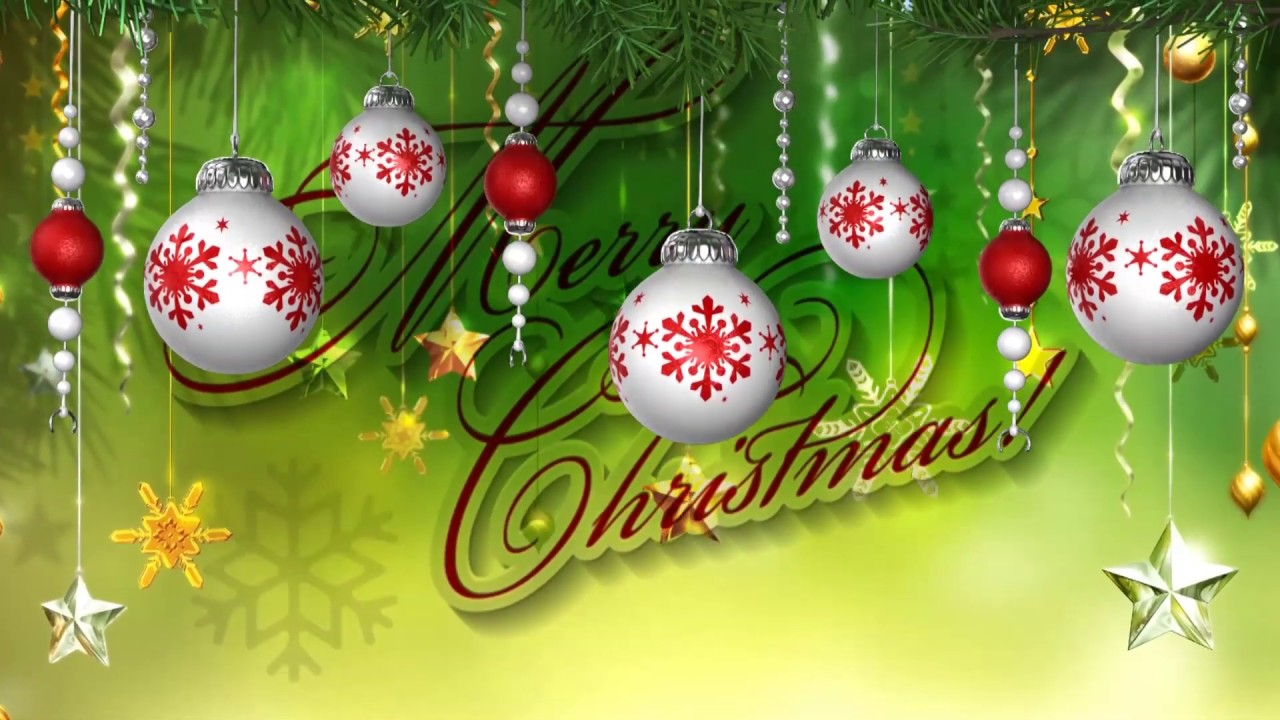 Christmas Wishes Video Background Happy New Year 2019 Dmx Hd Bg 431