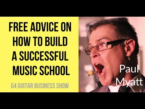 Free Advice On How To Build A Successful Music School - Interview with Paul Myatt