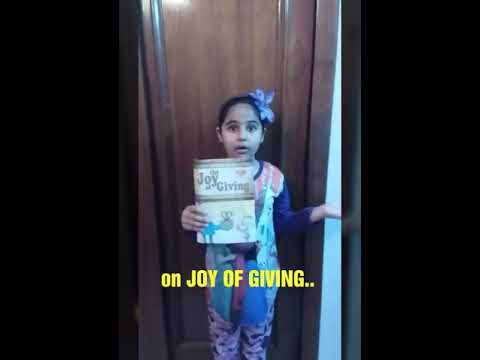 Poem On Joy Of Giving Self Created 1st Prize In English Poem