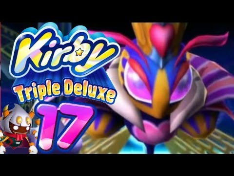 Let's Play Kirby Triple Deluxe Part 17: Masked Dedede & Königin Sectonia