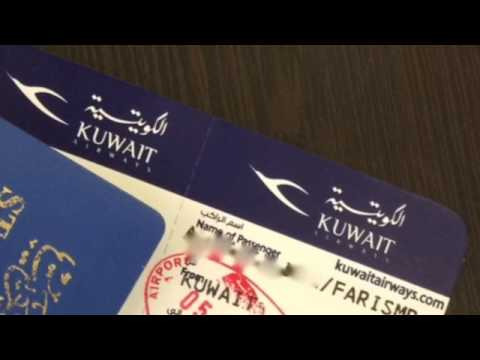 Kuwait Airways economy class - Kuwait to Jeddah
