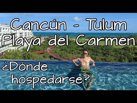 Dónde hospedarse 🏖️ ¿Cancún, Playa del Carmen o Tulum? 🌴 Hoteles económicos en Riviera Maya