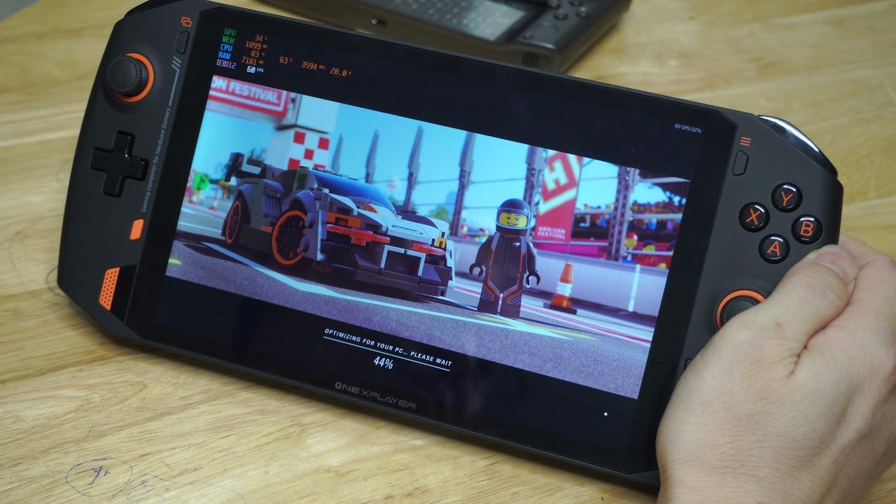 Trên tay và test game AAA trên One Xplayer - Máy chơi game cầm tay màn hình  nét nhất thế giới - YouTube
