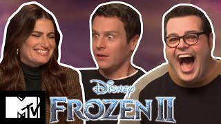 Idina Menzel & Frozen 2 Cast Talk Into The Unknown & Play Disney Pictionary   MTV Movies