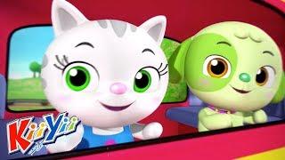 детские песни | Поезд Чу-чу + Еще! | KiiYii | мультфильмы для детей