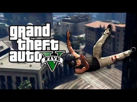 GTA V - The Legend of The Bloopers That Didn't Fit - (Funny Moments)