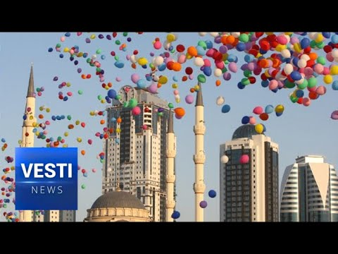 Grozny - Russian City, Capital of Chechnya - Celebrates 200 Year Anniversary With Mass Festivities