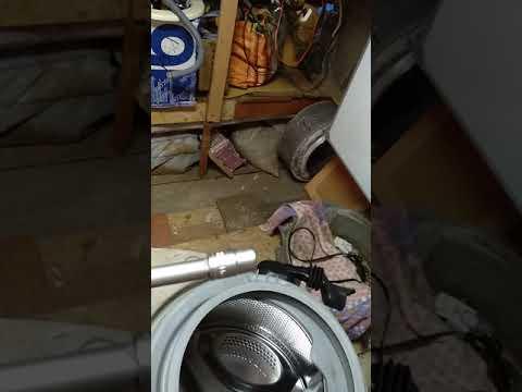 Как снять крепежные пружины с стиральной машины Ariston