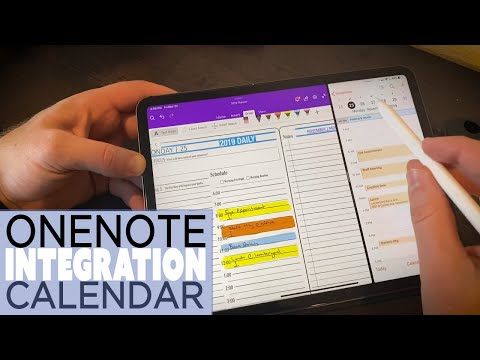Digital Planner Calendar Integration​ - OneNote, Ipad and Goodnotes