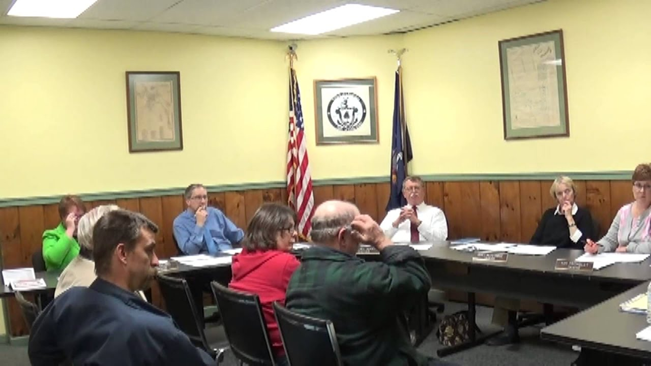 Champlain Village Board Meeting  11-9-15