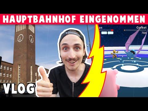 HBF Düsseldorf eingenommen! Pokémon GO deutsch [german]