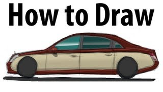 How to draw a Maybach 62S - Sketch it quick!