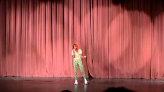 Alleyia Chestia Dupree - Singing in the IM Talent 6 Show