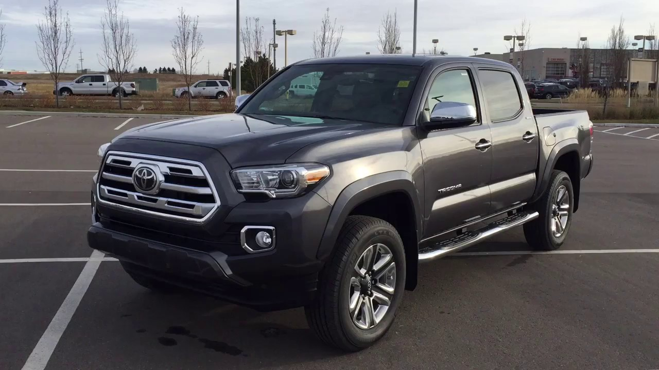1a0339ee08d 2019 Toyota Tacoma Limited Review - YouTube