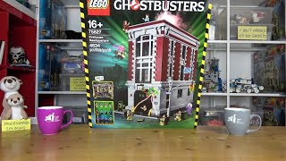 Live - LEGO® Ghostbusters 75827 Firehouse Headquarters - Baubeginn