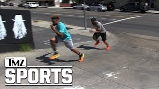 Odell Beckham Jr. -- BLOWS DIDDY AWAY ... In Street Footrace | TMZ Sports