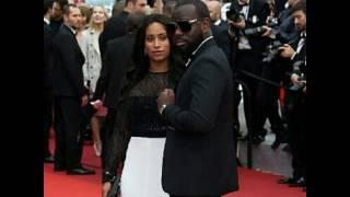 matre gims et sa femme au festival du cannes red carpet exclu