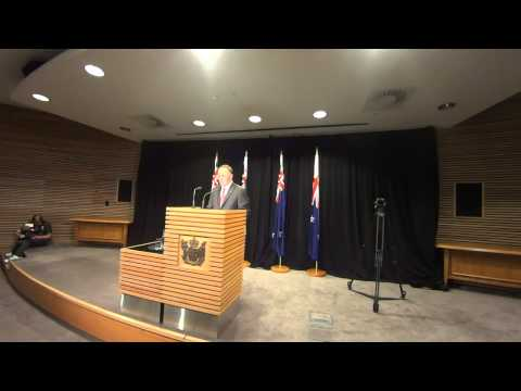 NZ PM John Key's Post Cabinet Press Conference 2 February 2015