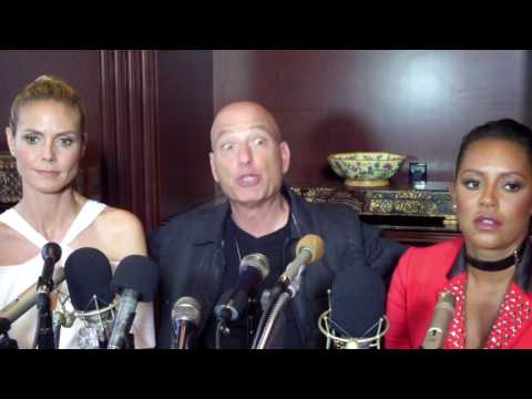 "Howie Mandel, Heidi Klum, & Mel B On ""Bigger, Better"" America's Got Talent"