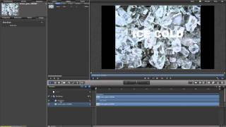 Apple Motion 5 Tutorial - Exploding Ice Text (Part 1)