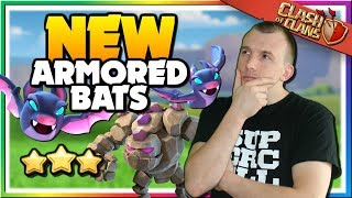 NEW ATTACK - Armored Bat Strategy at Town Hall 12 in Clash of Clans!
