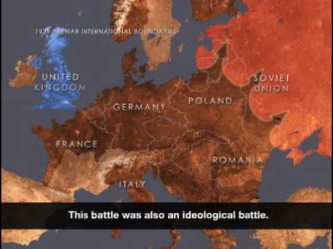 Animated Map Nazi Germany World War Ii And The Holocaust Youtube