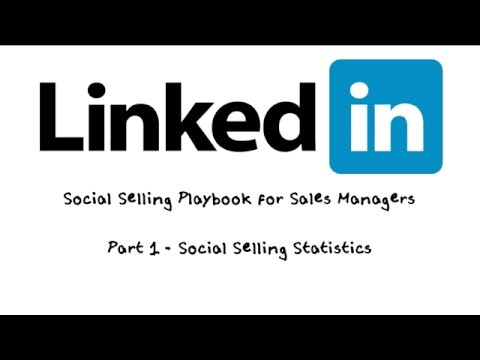 LinkedIn Social Selling Playbook for Sales Managers - Part 1 Social Selling Statistics