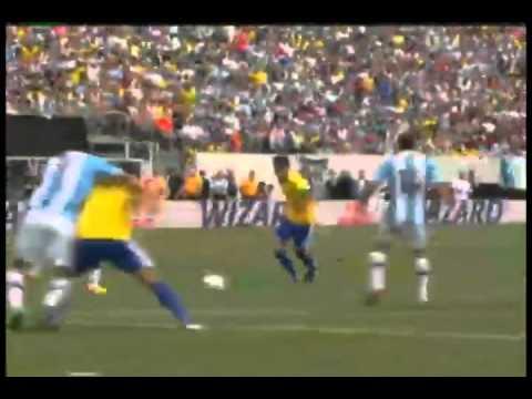 Brasil 3 X 4 Argentina 09 06 2012
