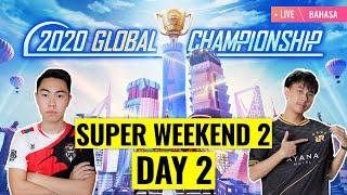 [Bahasa] PMGC 2020 League SW2D2 | Qualcomm | PUBG MOBILE Global Championship | Super Weekend 2 Day 2