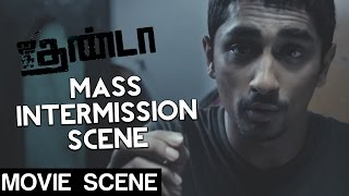 Jigarthanda - Mass Intermission Scene | Siddharth | Lakshmi Menon | Karthik Subbaraj