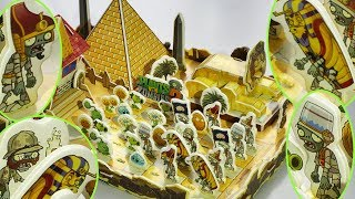 Part 1 - Let's Build Ancient Egypt Plants Vs Zombies PVZ 2 Mummy Explorer Pharaoh DIY thumbnail