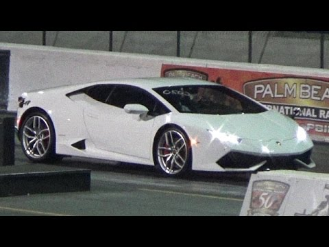 lamborghini huracan 1 4 mile drag race video road test tv youtube. Black Bedroom Furniture Sets. Home Design Ideas