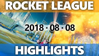 Rocket League Highlights 2018 08 08
