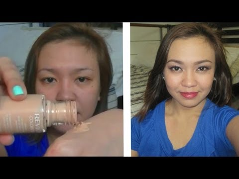 Revlon Colorstay First Impression Review Oily Skin! | TAGLISH