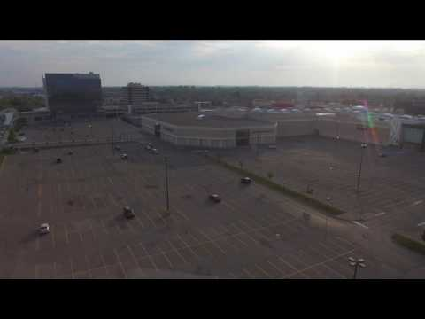 Pickering Town Centre. Phantom 3 view